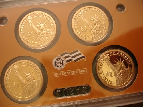2008 Silver Proof Presidential Obverse