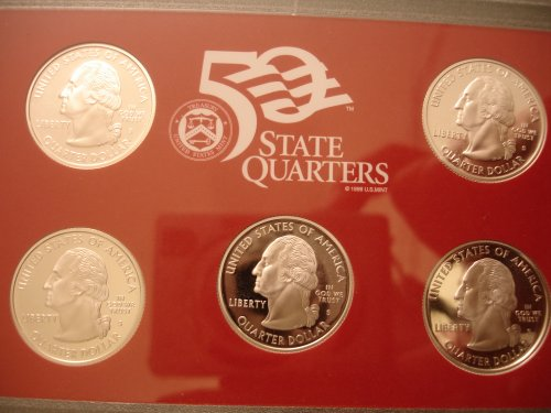 2008 Silver Proof Obverse Quarters