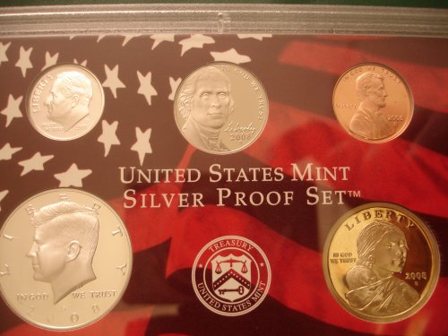 2008 Silver Proof Coinage Obverse