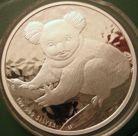 Aussie Koala Dollar 2009 Obverse