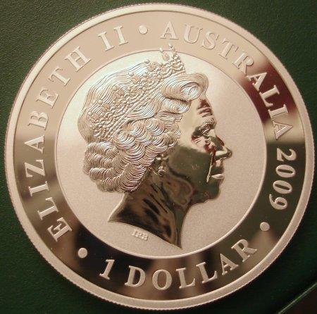 Aussie Koala Dollar 2009 Reverse