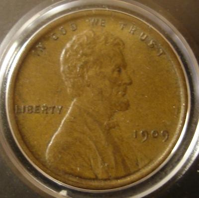 Lincoln 1909 VDB Obverse