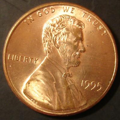 1995 Licoln Cent