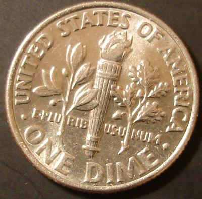 2003 Roosevelt D Dime Reverse