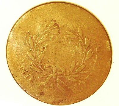 1795 American Cent Reverse