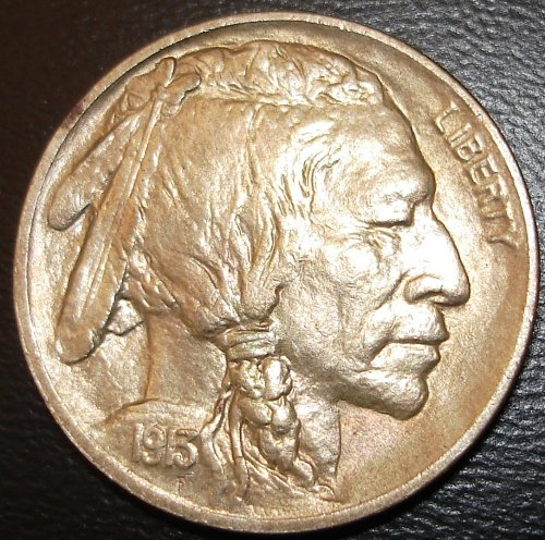 Obverse 1913 Type One Buffalo Nickel