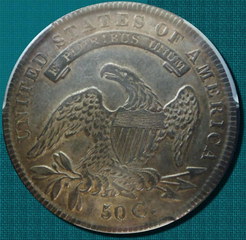 1836 Lettered Edged XF45 in a PCGS slab