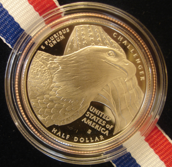 Clad US Bald Eagle Commorative Obverse Half Dollar 2008