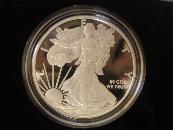 2008 American Silver Eagle Proofs
