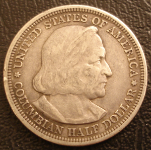 Columbia Commemorative Coin Obverse