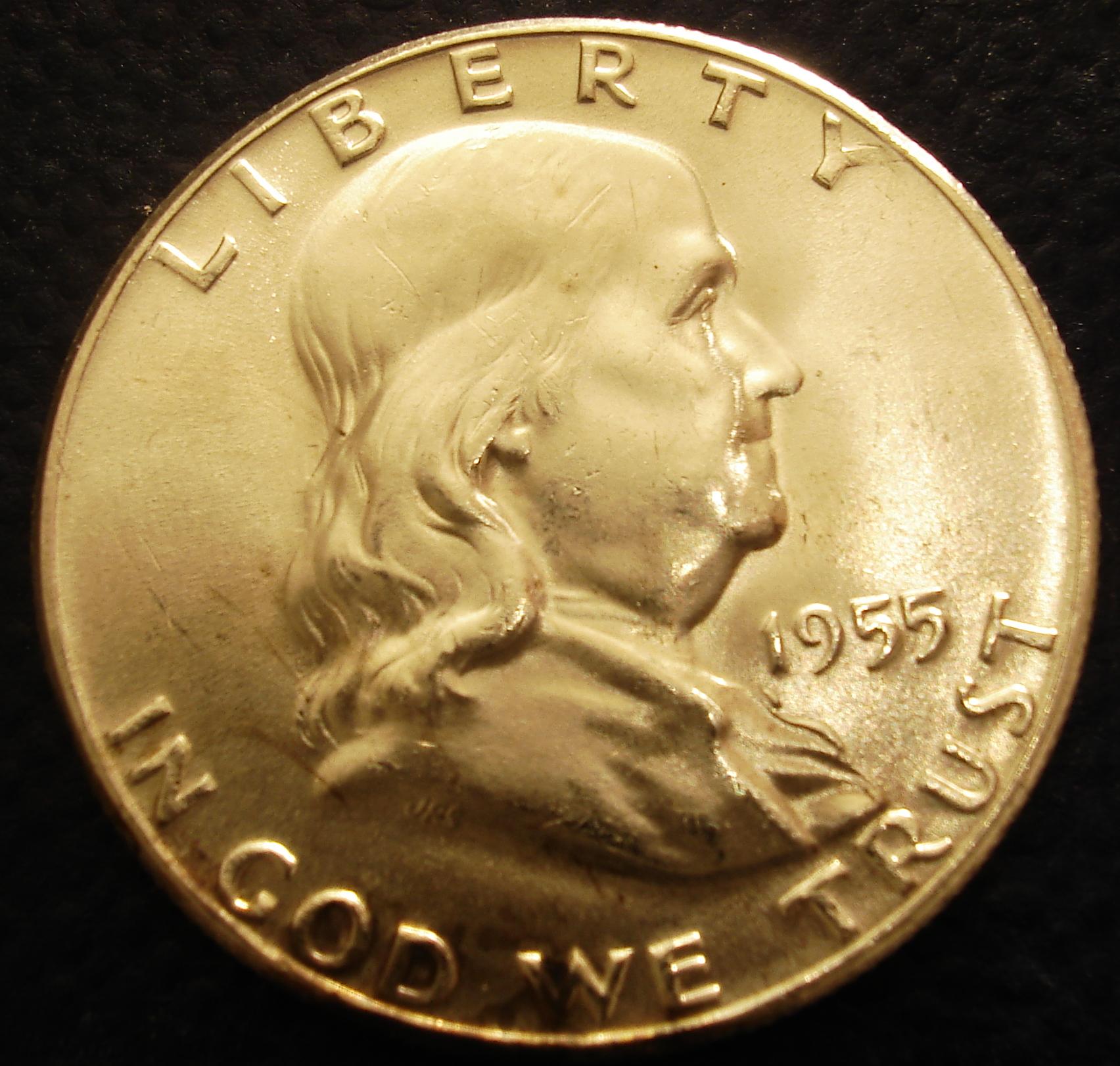 Ruben Safir Coins Collection: Franklin Half Dollar Coins