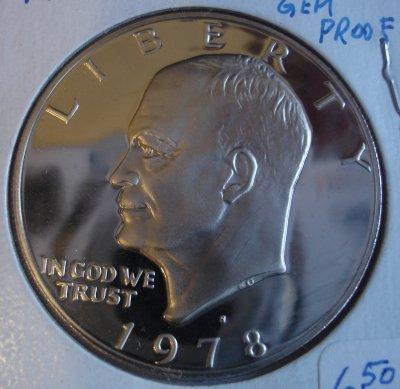 Eisenhower 1978 Obverse S