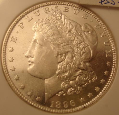 Morgan 1896 Obverse