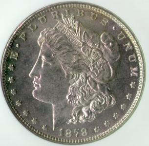 Morgan 1878 Obverse