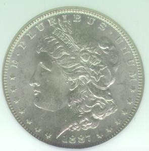 Morgan 1887 Obverse
