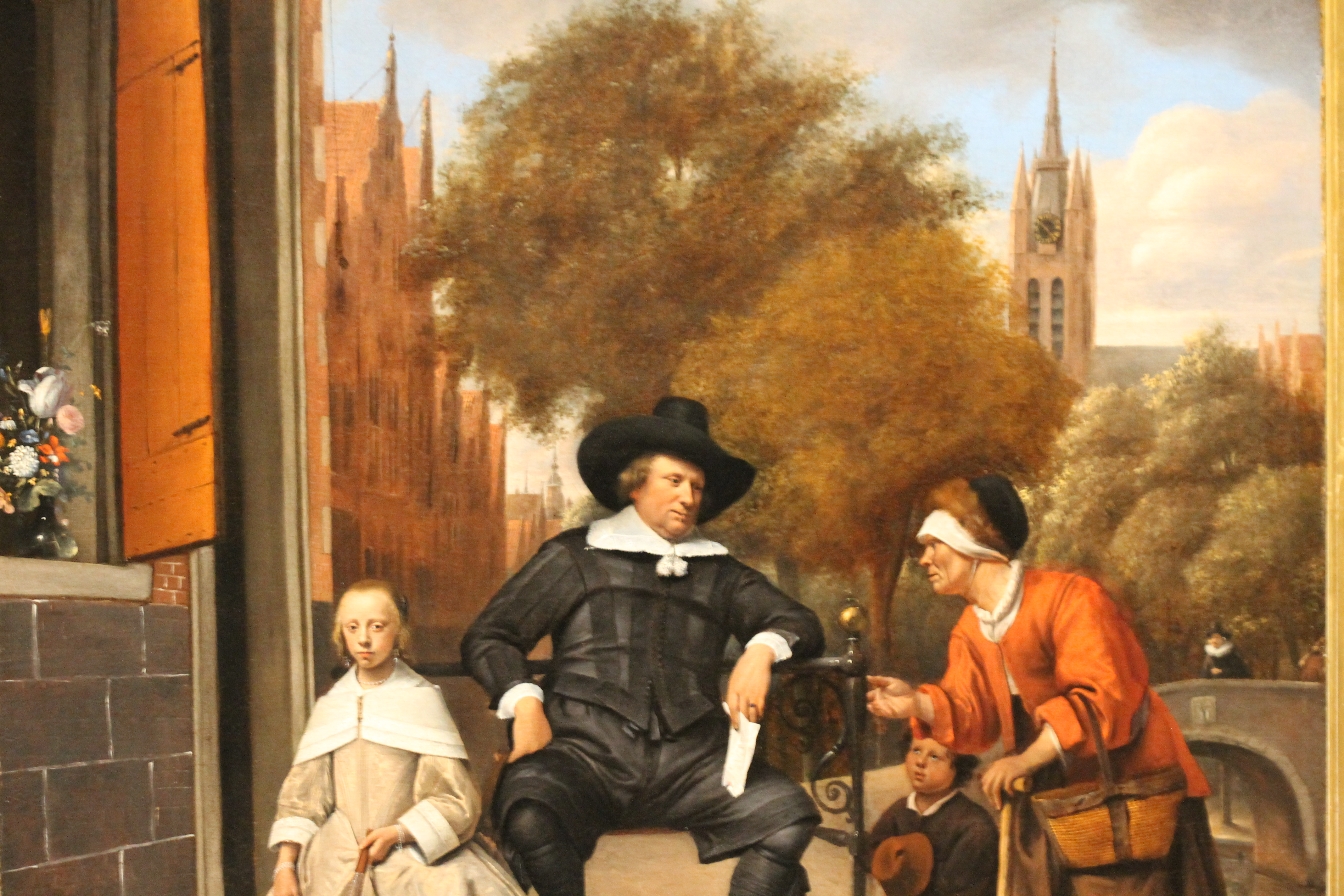 Jan Steen - Adolf and Catharina Croeser in Oude Delft 1655