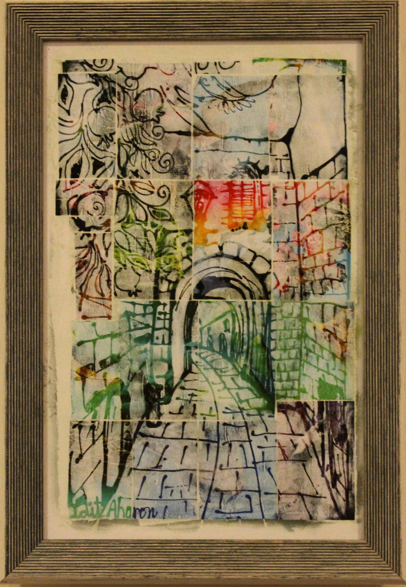 Idit Aharon - Safed Alley Tree