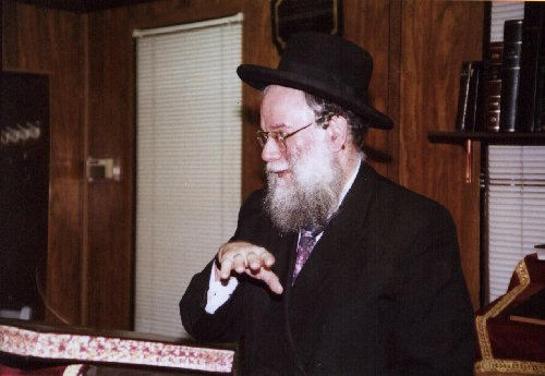 Rabbi Schmuel Lev Friedman about 1998