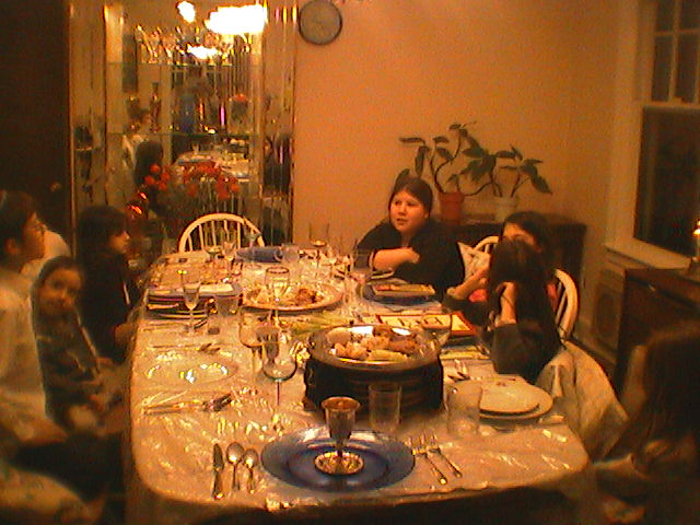 Sedar Table on E17th Street 2000 from my Sony Picturebook